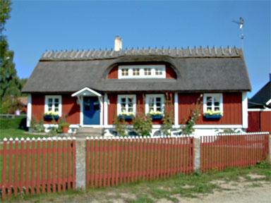 Chaumière à Hällevick